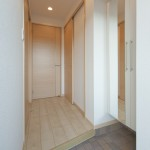 401号室:玄関