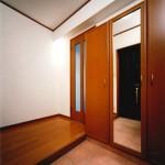 建築主住居:玄関