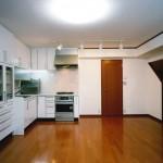建築主住居:リビング・ダイニング・キッチン