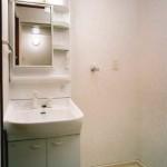 Aタイプワンルームタイプ:洗面室